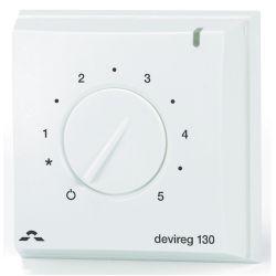 Терморегулятор DEVI Devireg 130 механический для теплого пола