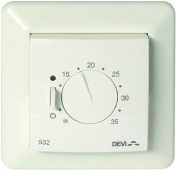 Терморегулятор DEVI Devireg 532 механический для теплого пола