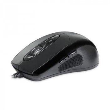 Миша REAL-EL RM-290 Black USB