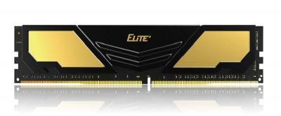 Модуль пам'яті DDR4 16GB/2400 Team Elite Plus Gold/Black (TPD416G2400HC1601)