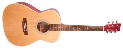 Акустическая гитара SX SO204 Trans Red