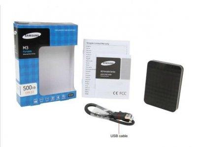 """Накопичувач зовнішній 2.5"""" USB 500Gb Seagate M3 Portable (HX-M500TCB/G)"""