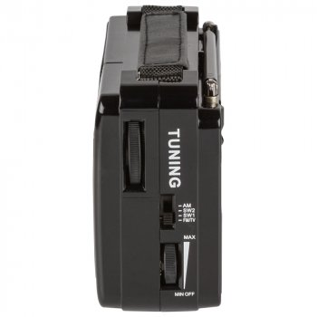 Портативний радіоприймач Golon RX-A06 AC Black (RX-A06ACB)