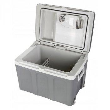 Холодильник туристичний Camry CR 8061 з ручкою для перенесення і колесами 45 л/58 Вт Сірий