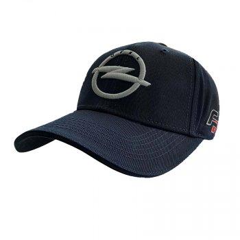 Кепка с логотипом авто Опель Sport Line 5792 57-60 цвет синий