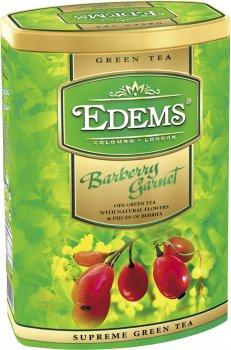Чай зеленый Еdems Барбарис Гранат крупнолистовой рассыпной 200 г (4792055013031)
