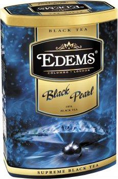 Чай черный Edems Черная жемчужина крупнолистовой рассыпной 200 г (4792055013055)