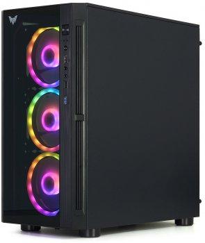 Корпус Crown CMC-GS40RGB2 600 Вт Black