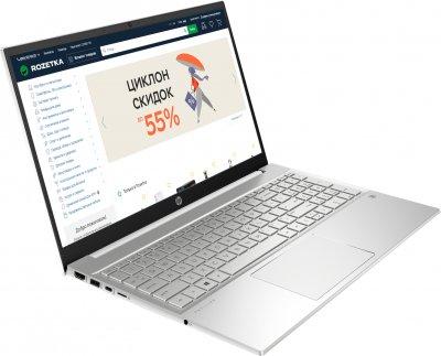 Ноутбук HP Pavilion 15-eg0072ur (2W2D7EA) White Silver