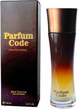 Туалетная вода для мужчин Alain Fumer Code Parfum 100 мл (4630014637204)