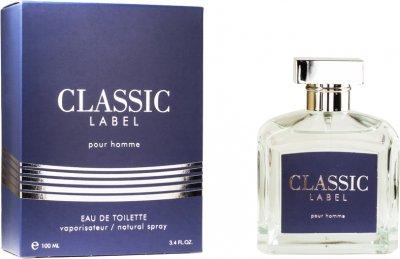 Туалетная вода для мужчин Alain Fumer Classic Label 100 мл(4630014633695)