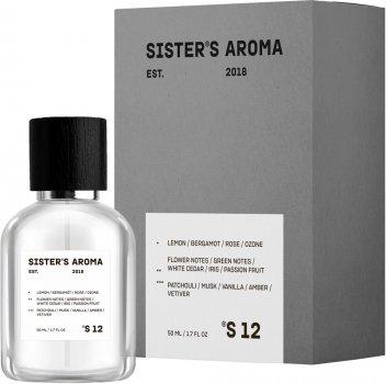 Парфюмированная вода унисекс Sister's Aroma 12 100 мл (4820227780143)