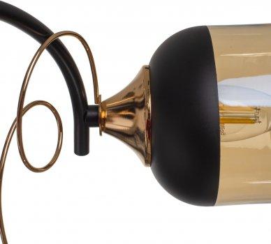 Люстра Brille LK-706S/3 E27 BK+FG (24-541)