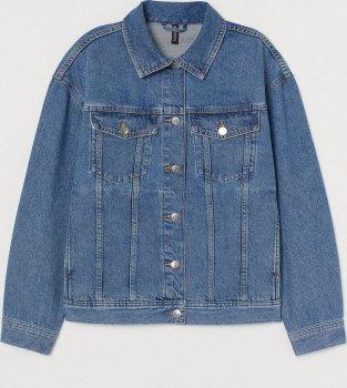 Куртка джинсова H&M 0829643-1 Синя