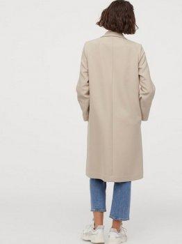Пальто H&M 0852513-1 Бежеве