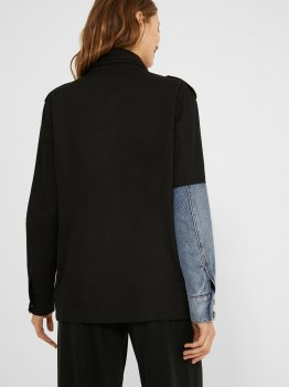 Джинсова куртка Desigual 21SWEW38