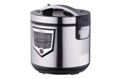 Мультиварка пароварка ARDESTO 4 літрів медленноварка 860 Вт краща домашня потужна помічниця на кухні нержавіюча сталь МСХ16ХЅ
