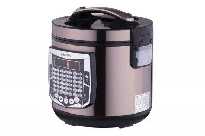 Мультиварка пароварка ARDESTO 4 літрів медленноварка 860 Вт краща домашня потужна помічниця на кухні нержавіюча сталь MCX45CHS