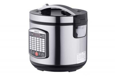 Мультиварка пароварка ARDESTO 4 літрів медленноварка 860 Вт краща домашня потужна помічниця на кухні нержавіюча сталь MCX42XS