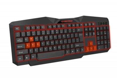 Клавиатура Esperanza EGK201 (EGK201RUA) Red USB