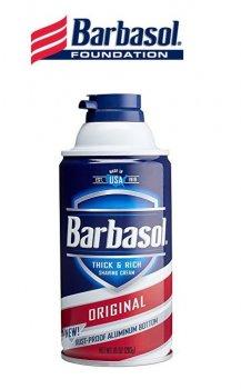 Крем-пена для бритья Barbasol для всех типов кожи кожи Original 283 гр