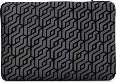 "Чехол для ноутбука HP Reversible Sleeve - Geometric 14"" Black/Silver (2TX16AA)"