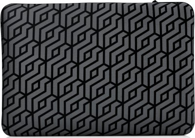 "Чохол для ноутбука HP Reversible Sleeve — Geometric 15.6"" Black/Silver (2TX17AA)"