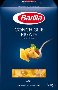 Упаковка макарон Barilla Конкилье Ригате 500 г х 4 шт (8076802085936_5004)