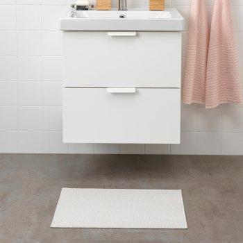 Килимок у ванну кімнату IKEA FINTSEN 40х60 см Білий 904.437.05