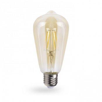 Світлодіодна лампа Feron LB-764 ST64 золото 4W 2700K E27 EDISON