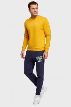 Чоловічі темно-сині спортивні штани Oodji 5L200100I-3/48820N/7919P