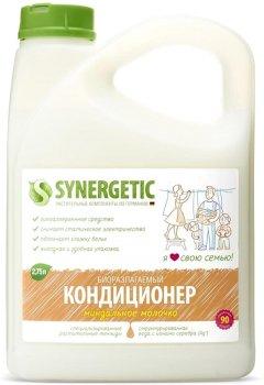 Кондиционер-ополаскиватель для белья Synergetic Миндальное молочко 2.75 л (4623722441850)