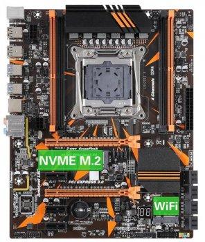 Материнська плата Kllisre X99 X99Z V102 (s2011-3, Intel X99, PCI-Ex16)