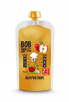 Пюре Яблука без цукру 400 грам Snail Bob