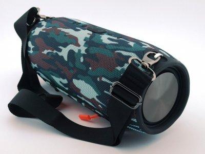 Акустична потужна портативна вологозахисна система Bluetooth колонка T&G Xtreme Bass, переносна з функцією гучний зв'язок і FM радіо. Камуфляж