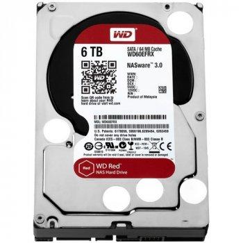 Жорсткий диск WD 3.5 Red 6 TB (WD60EFRX)