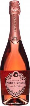 Ігристе вино Pierre Monte рожеве напівсухе 0.75 л 10.5-13.5% (4841676002389)