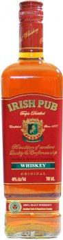 Виски Irish Pub 3-х летний 0.7 л 40% (4840577003125)