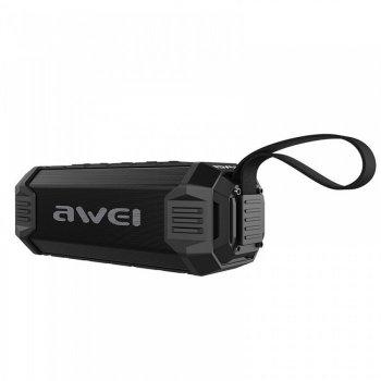Портативна екстремальна Bluetooth колонка Awei Y280 (Bluetooth, MP3, AUX, Mic) (IM)