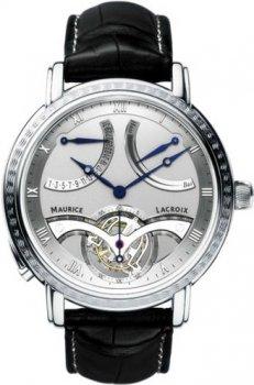 Часы Maurice Lacroix MP7088-PL201-110 Tourbillon Retrograde