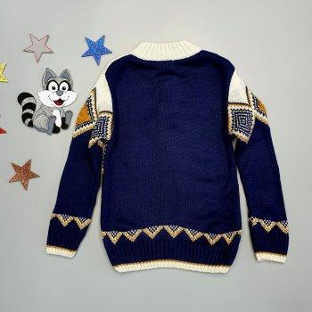 Свитер Joni kids для мальчика Темно-синий 18511