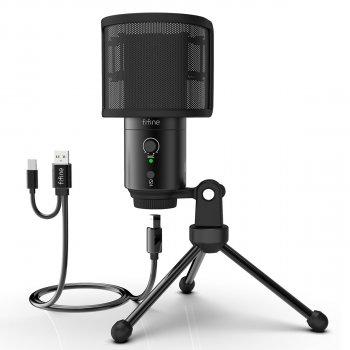 Микрофон Fifine K683A USB/USB C