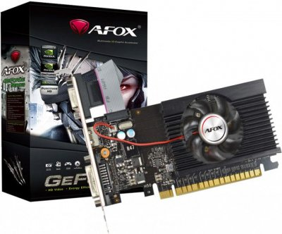 AFOX Geforce GT710 2GB DDR3 64Bit DVI-HDMI-VGA Low profile