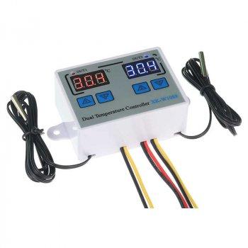 Цифровий Контролер Температури Xk-W1088 Подвійний Dc24V 240 Вт