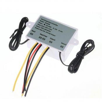 Цифровий Контролер Температури Xk-W1088 Подвійний Ac110-220V 1500 Вт