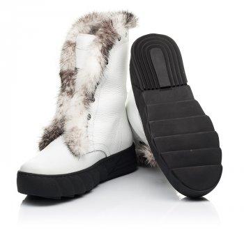Зимові чоботи на хутрі Woopy 36 білий 7251a