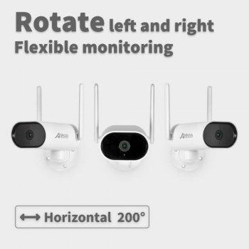 Поворотная WiFi камера Anran AR-W620 5Mp (IP, LAN, Ai, PTZ)