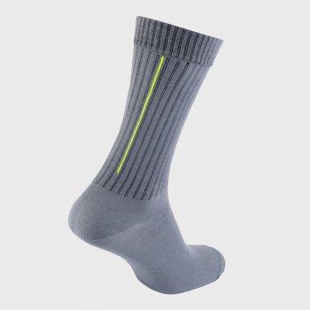 Шкарпетки The Pair of Socks Neon Stripe Grey 1P-11001GR Сірі M