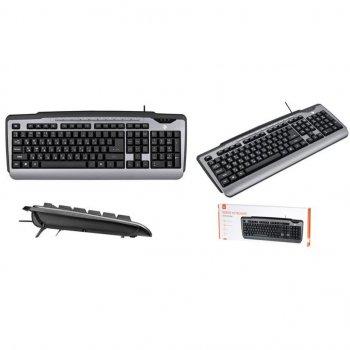 Клавиатура 2E KM1010 USB Gray (2E-KM1010UB)