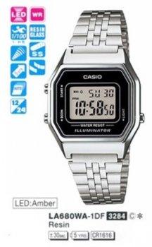 Годинник CASIO LA680WA-1EF